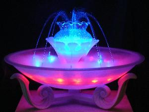 wholesale music/sound control dancing water fog fountain